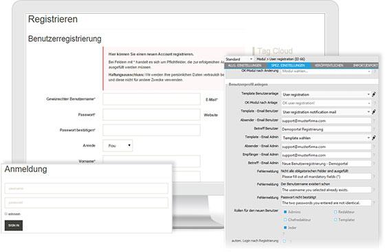 contentXXL - .NET CMS für Website, Extra- und Intranet